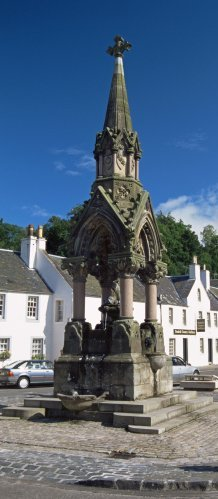 atholl fountain dunkeld